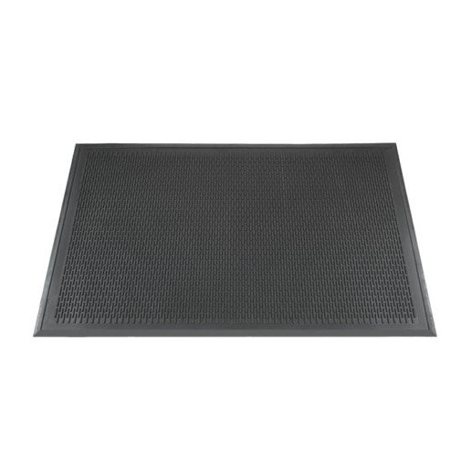 DIRT STOPPER BLACK 4x6 MAT
