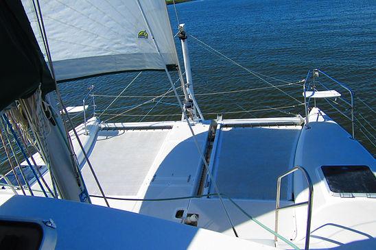 boat  catamaran daytona