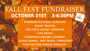 Fall Fundraiser is Here! Don't Miss it!
