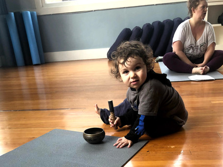 Falling In Love With Family Yoga