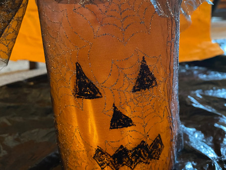 Painted Halloween Lanterns