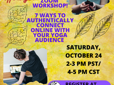 FREE Zoom Workshop! Grow Your Offerings!