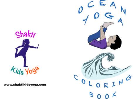 Ocean Yoga Coloring Book - FREE DOWNLOAD