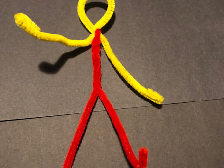Bendy Friends - Poseable Pipe Cleaner Yogi