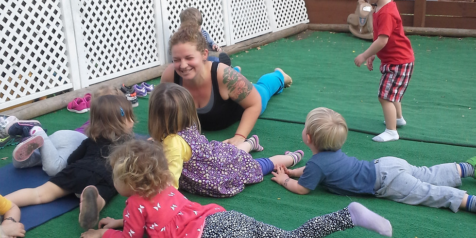 Teacher Training - Welcome to the World: Babies to Preschool (3 months-6 years) + Family Yoga