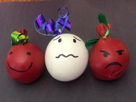 CRAFT IDEA:BALLOON STRESS BALLS/ EMOTION SQUEEZIES