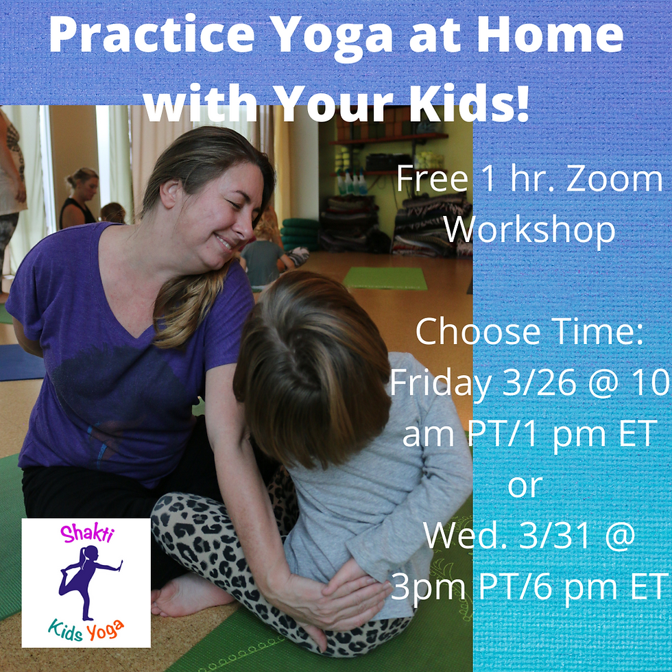 Practice Yoga at Home with Your Kids! (3