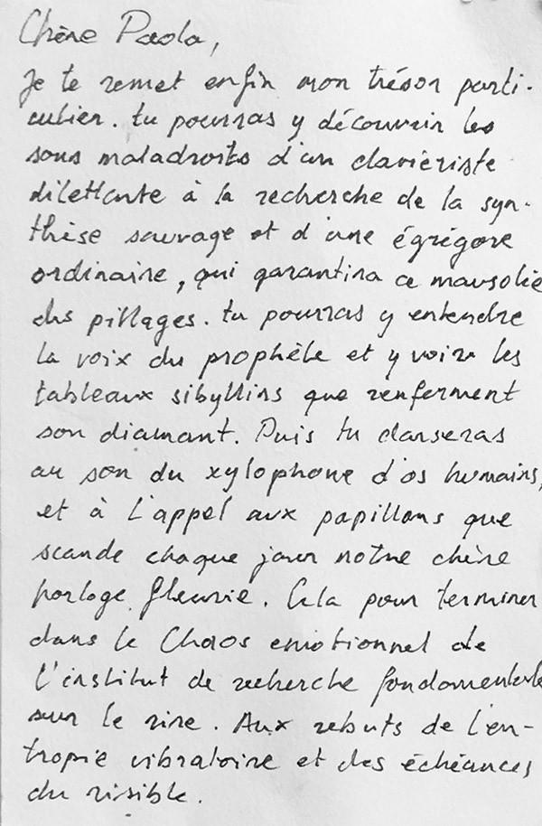 Trésor particuliers - Paola Carbone