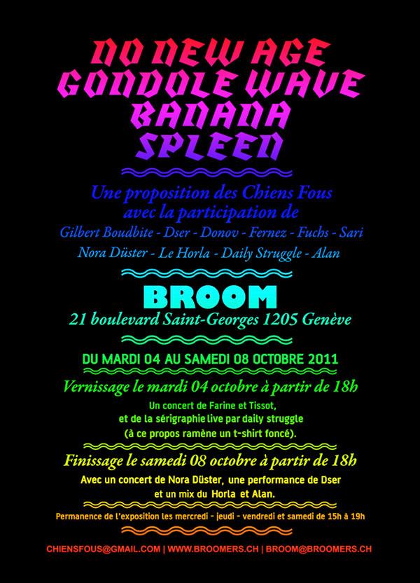 No New Age Gondole Wave Banana Spleen - Paola Carbone
