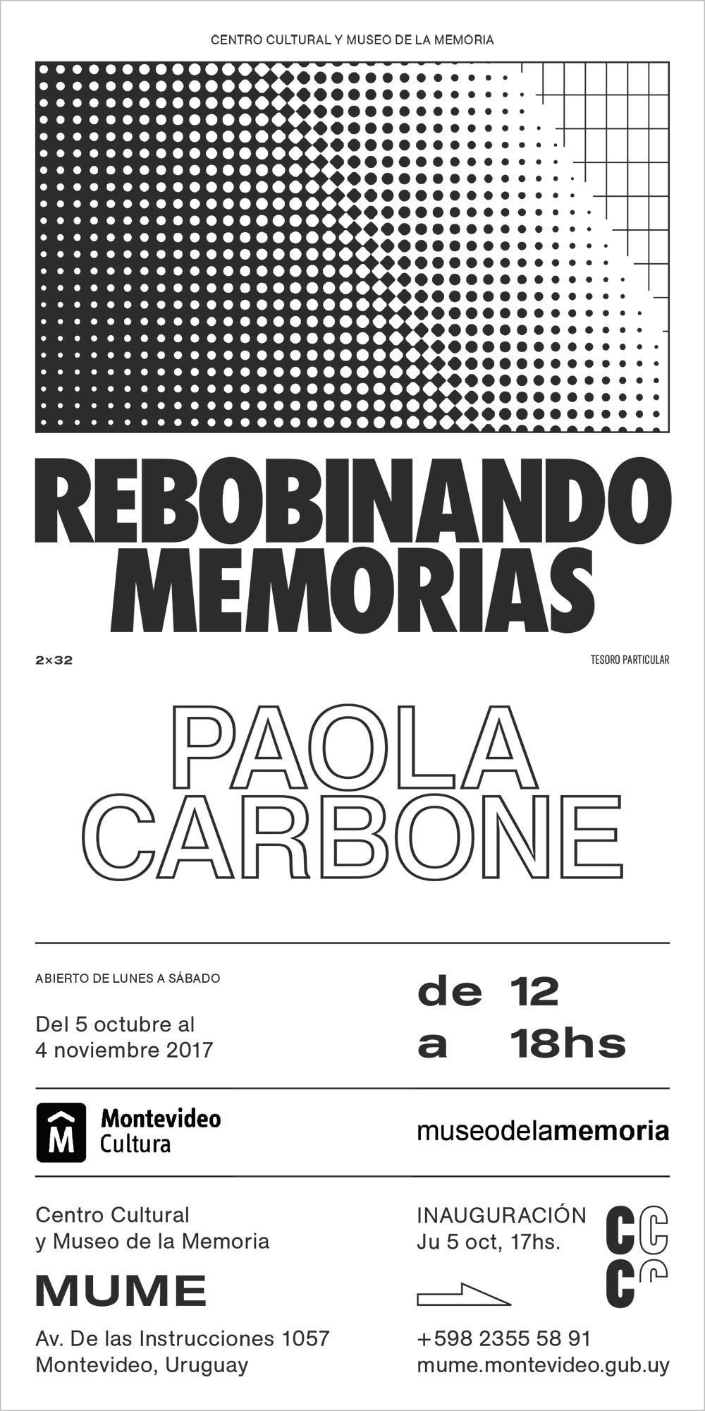Rebobinando memorias - Paola Carbone