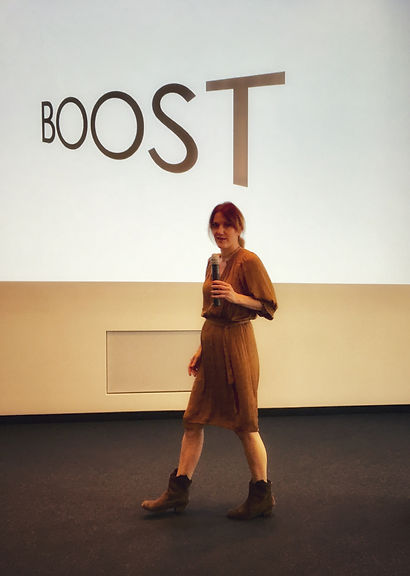 Nicole Hoefer-Wirwas, Boost Workshop