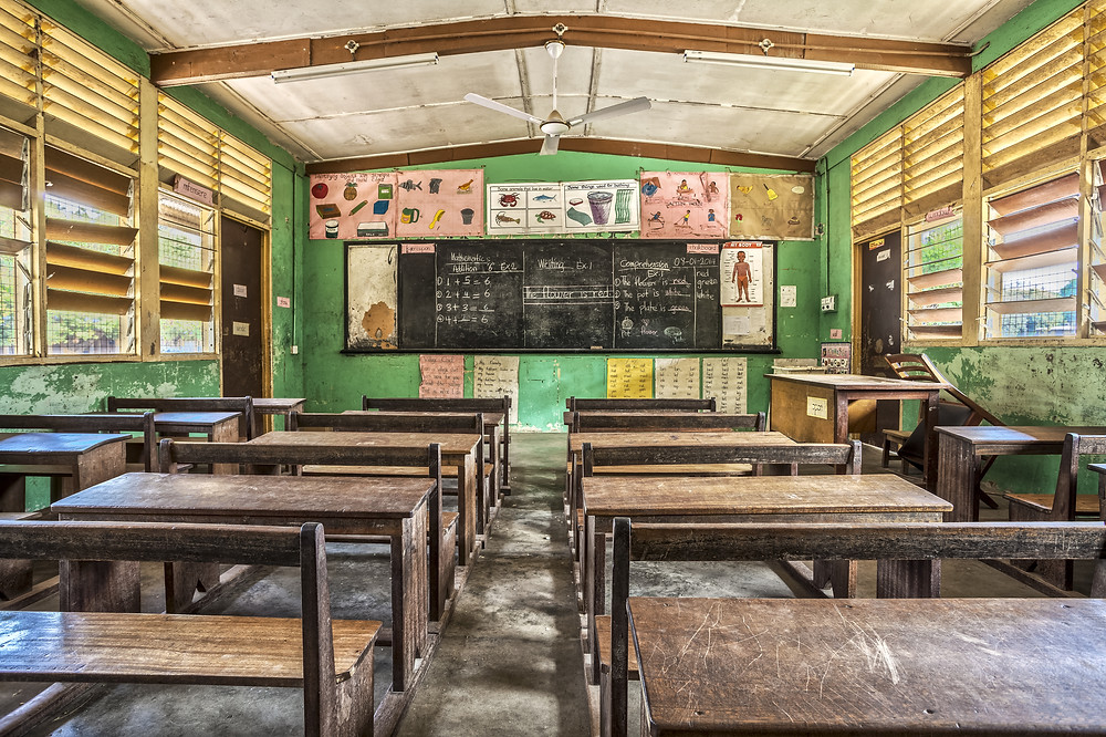 Classroom in Ghana