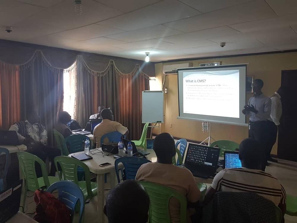 Liberia: Content Management System Workshop