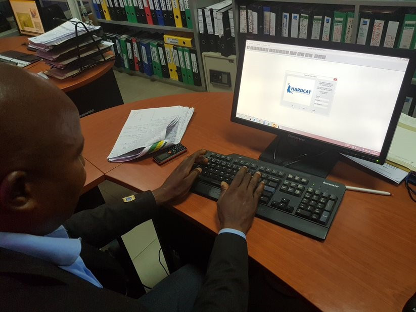 Czegarr Joseph, Fixed Assets Supervisor, Liberia Revenue Authority using HardCat asset management system