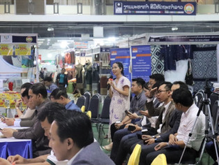 Laos Business Environment Activity Supports Handicrafts Sector SMEs' Use of Digital Technology
