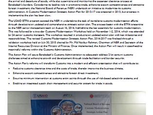 IBI in Bangladesh: Taking on Trade Facilitation