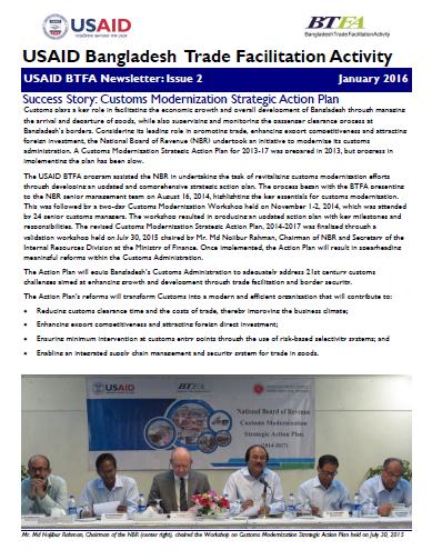 USAID BTFA Newsletter January 2016