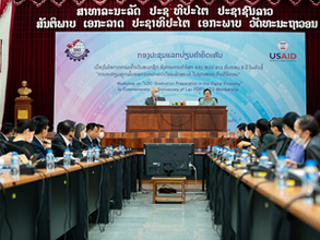 IBI Helps Lao Prepare to Graduate from Least Developed Country (LDC) Status