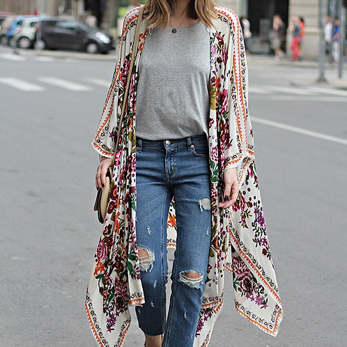 simple colourful duster