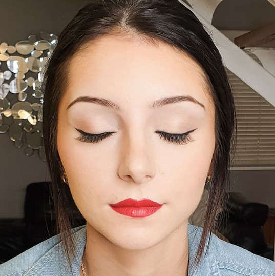 Gorgeous Daina 💄 we did her makeup a fe