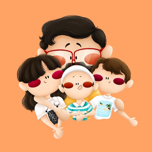 Heróis - Família