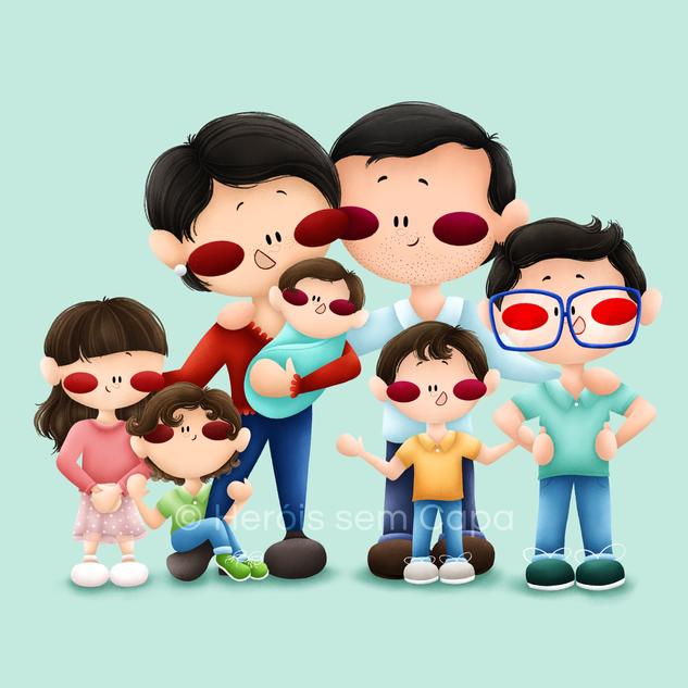 Heróis - Família Godinho-Rodrigues