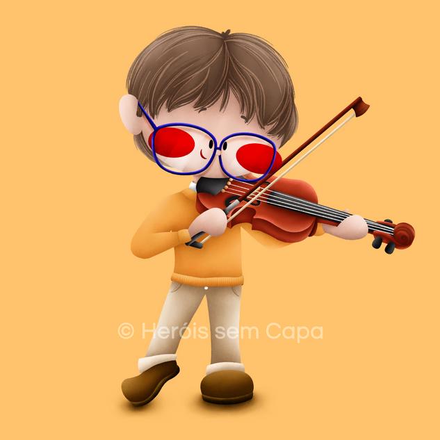 Herói Violinista
