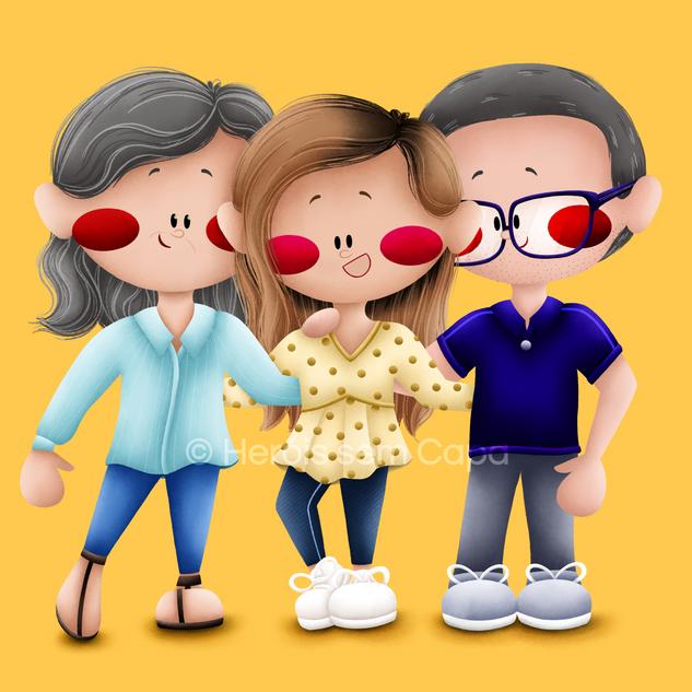 Heróis - Família Pinto