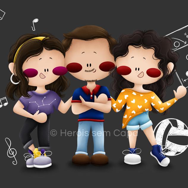 Heróis - Família Gomes