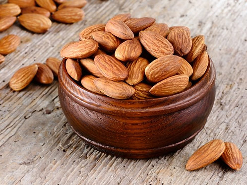 Almonds, California RAW Organic 25lbs