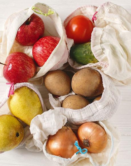 zero waste food shopping. eco natural ba