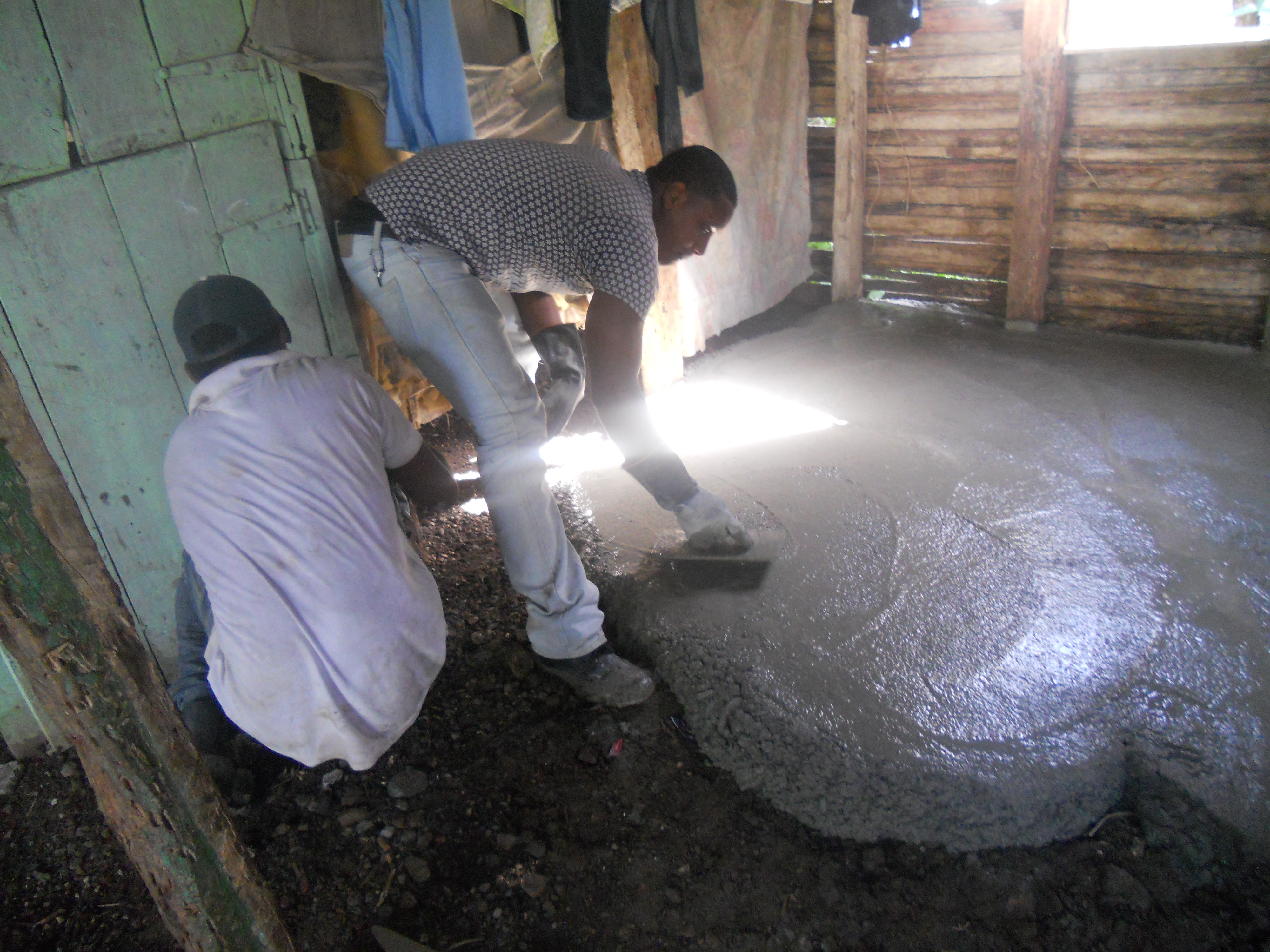 Cement Floor Project
