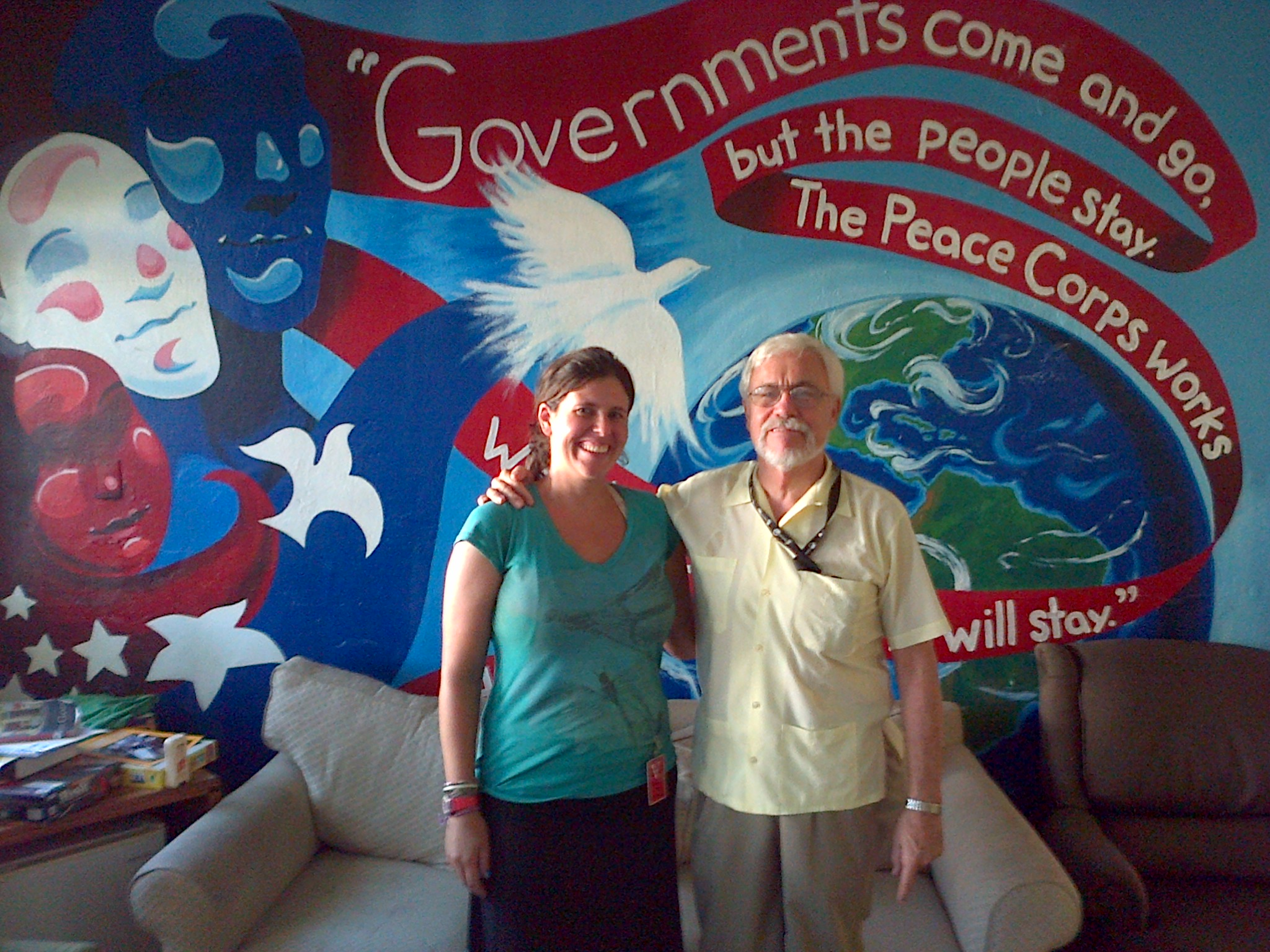 """Peace Corps Office D.R. Mural"""