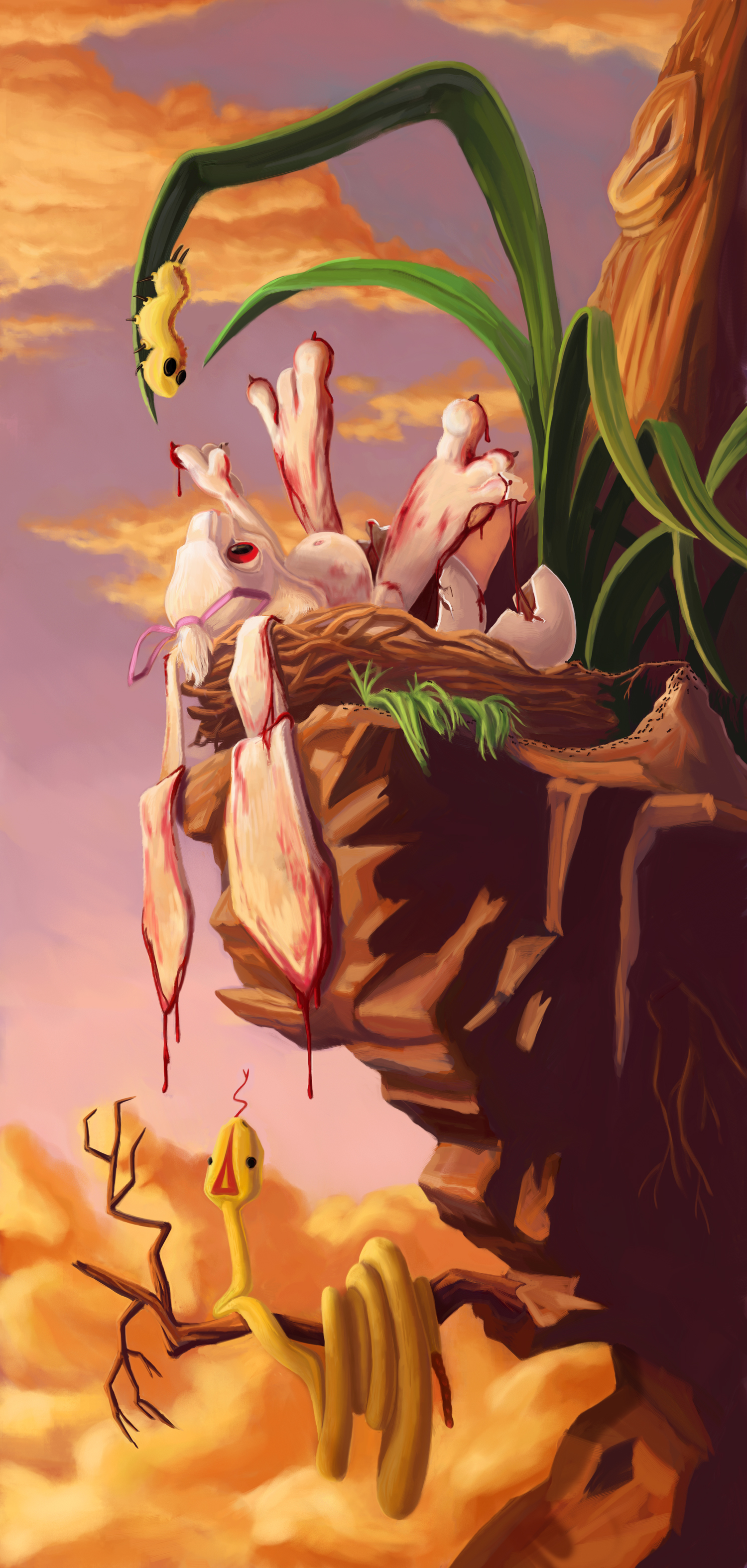 """The Birth of the Bunny"""