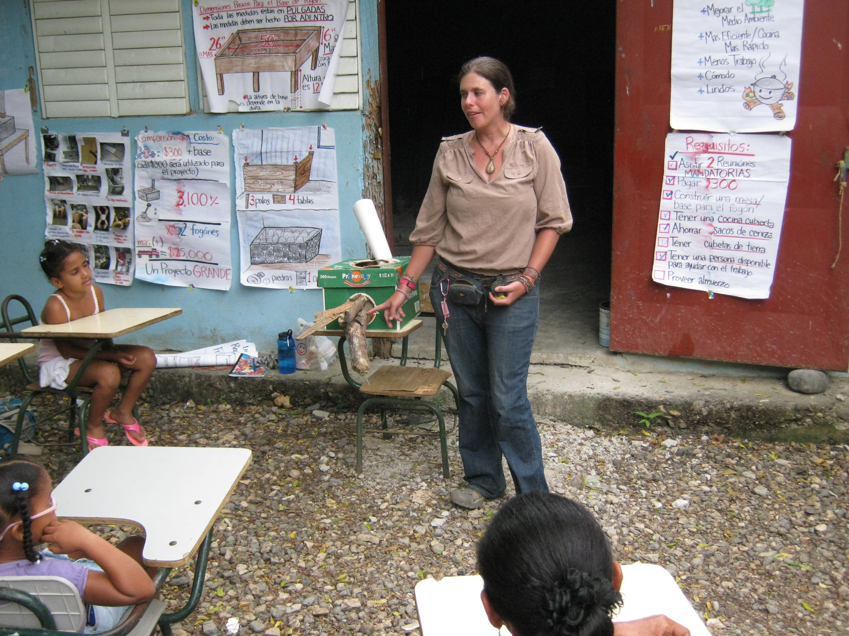 Improved Cookstove Education