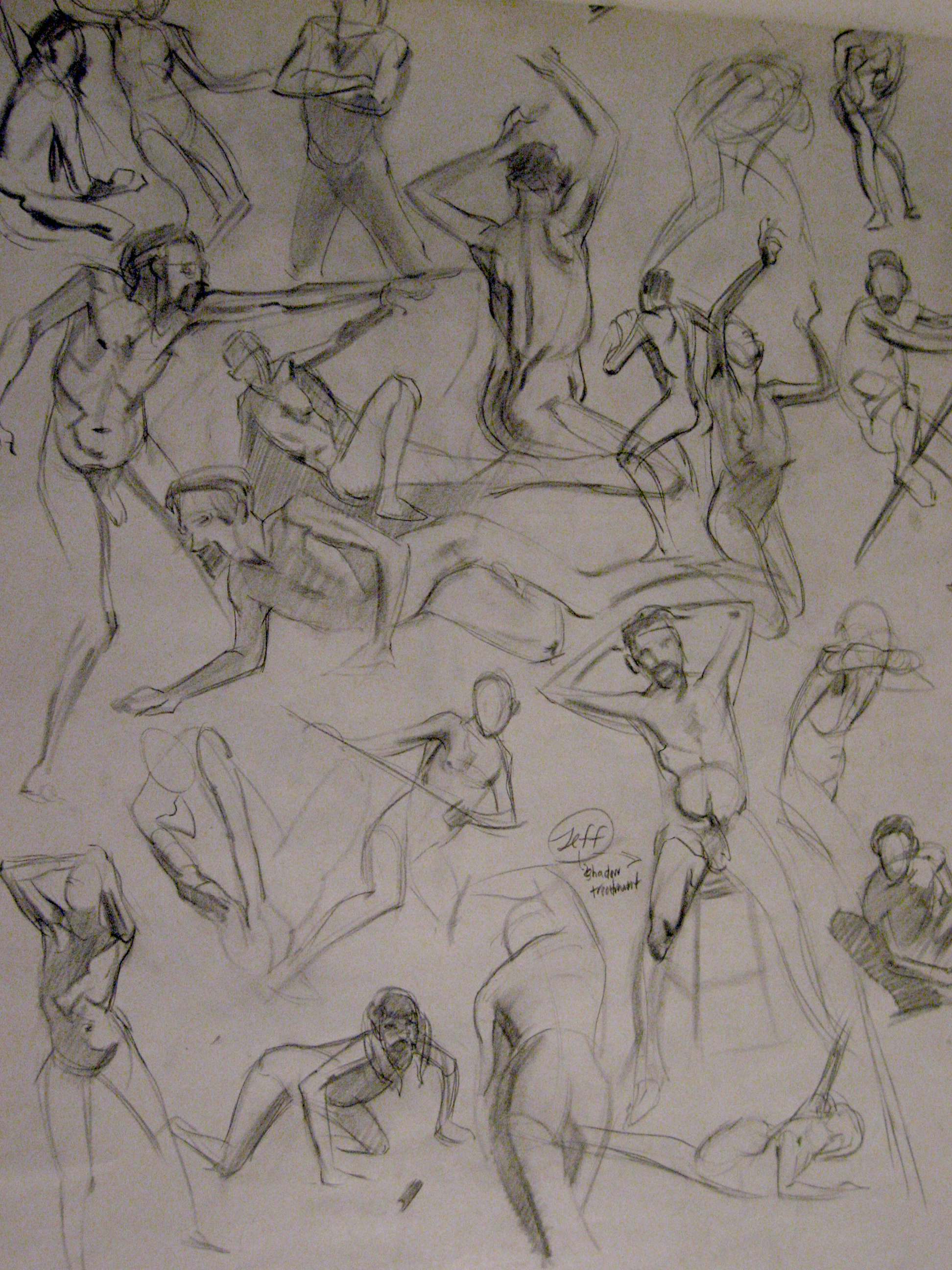 """Quick Studies: Life Drawing"""