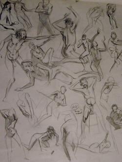 """Quick Studies: Life Drawing"""