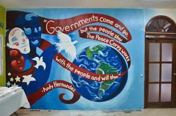 """""""Mural de Cuerpo de Paz en la R.D."""""""