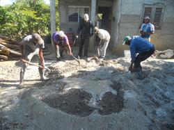 Cement Floor Project