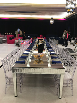 Mirrored King Table