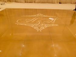 Gold Seamless Dance floor