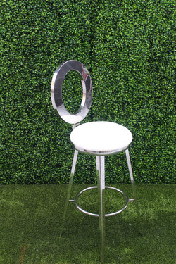 Dior Barstool Silver