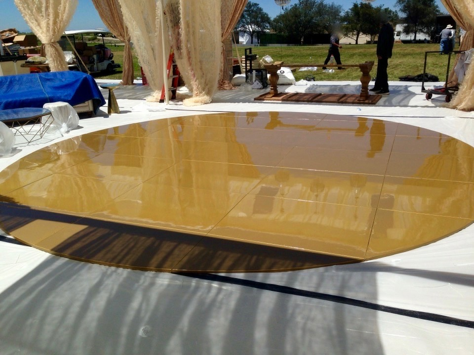 Gold Seamless Dance Floor
