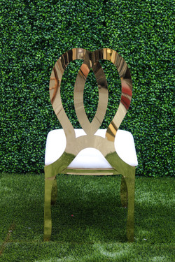 Chanel Chair (Gold)