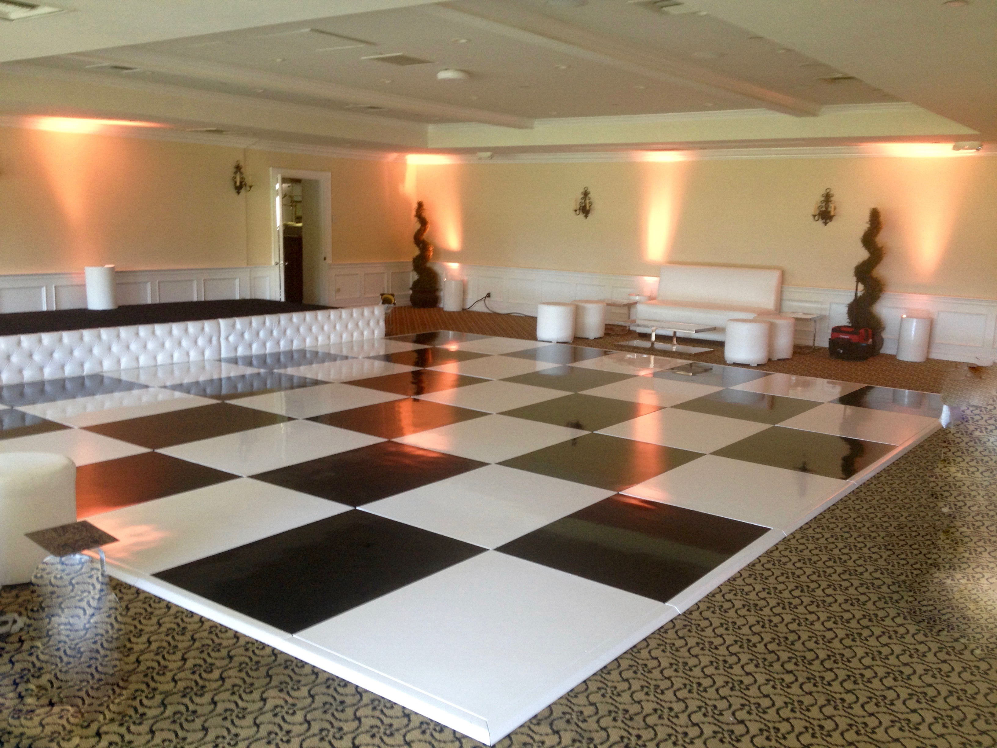 Checkered Dancefloor