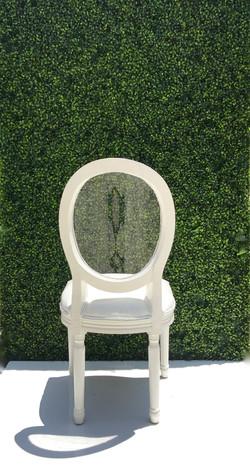 Clear Back Louie Chair