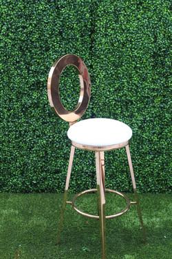 Dior Barstool Rose Gold