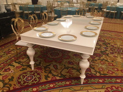 White Lacquered Table