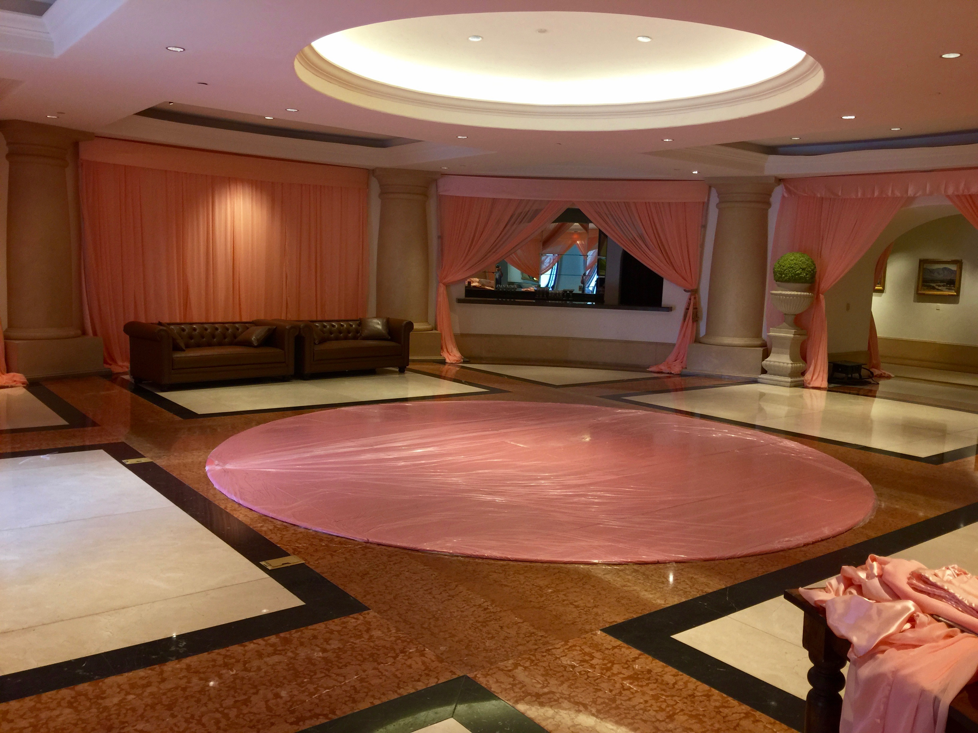 Pink Seamless Dance Floor