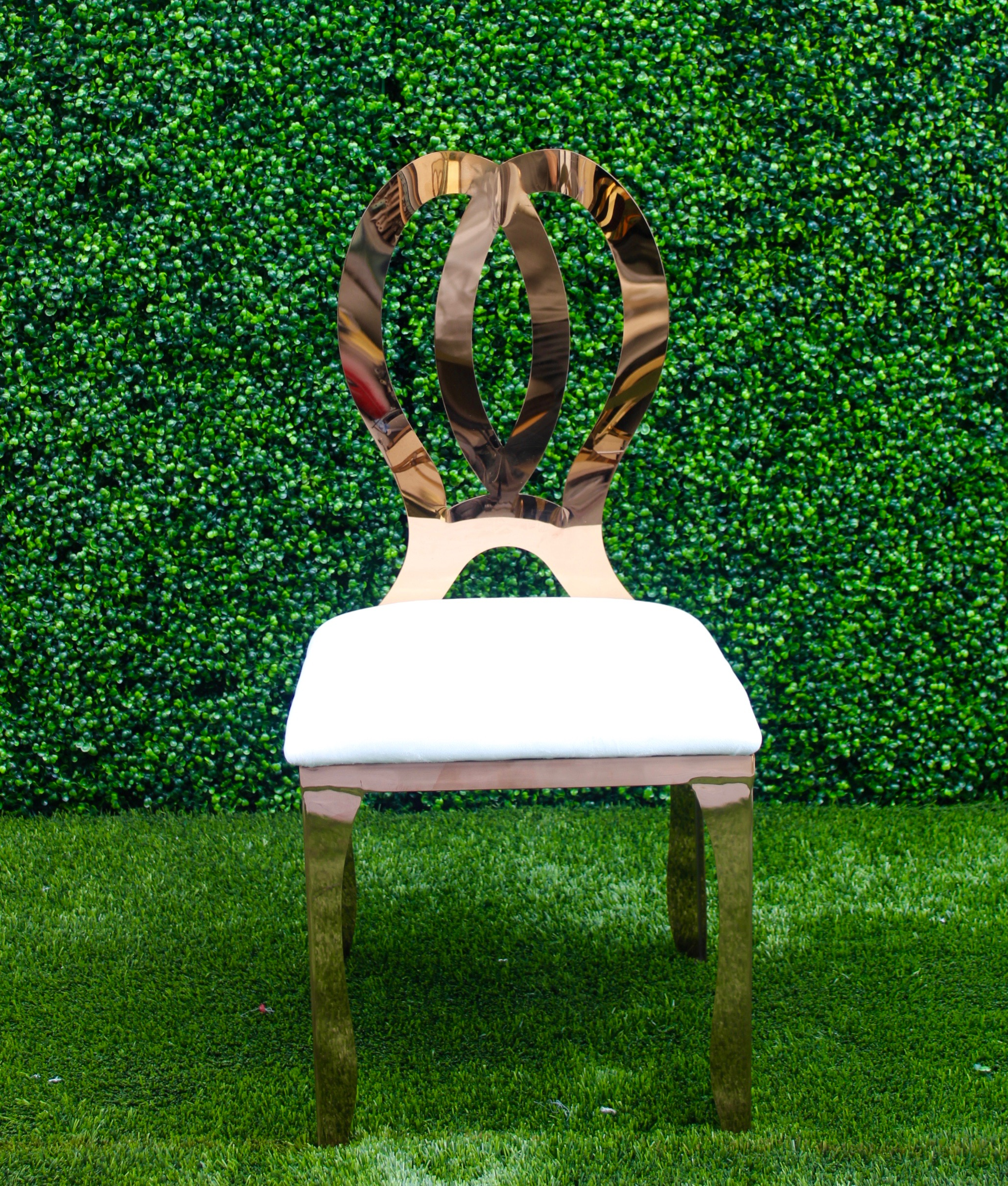 Chanel Chair (Rose Gold)